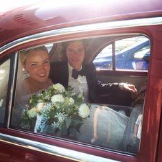 beautifull couple arrived at the city hall. #cubanfarmwedding