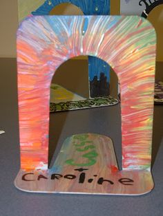 Painting Book Ends - Teen Project to Decorate