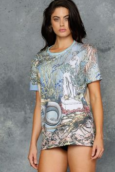 Black Milk Clothing Bilibin's Little Mermaid BFT XL $60