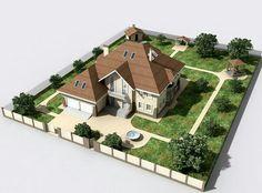 Hay Day, House Map, Site Plans, House Blueprints, Library Design, Home Decor Furniture, Amazing Architecture, Backyard Landscaping, Landscape Design