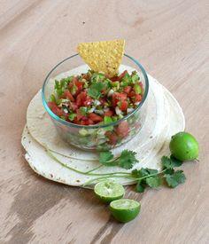 Chunky Fresh Tomato Salsa recipe