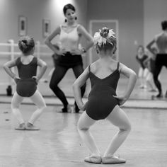 demi-plie. www.theworlddances.com/ #littleballerinas #tutucute #dance
