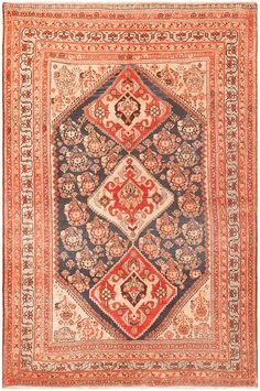 Antique Persian Ghashgai Rug 50047
