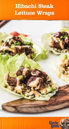 Once you check out this recipe for Hibachi Steak Lettuce Wraps, you'll be inspired to whip up easy and delicious dishes for lunch. Complete with fresh lettuce, marinated beef, UNCLE BEN'S® Long Grain & Wild Original Recipe, and yum yum sauce, this meal idea has it all! Plus, you can find everything you need to pack fresh vegetables and savory flavor on-the-go at Target.