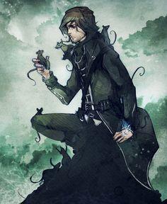 Great fanart of Corvo!!! (Dishonored)