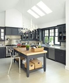 Room Love   Grey Kitchens