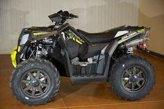 New 2016 Polaris Scrambler XP 1000 Titanium Matte Lime ATVs For Sale in Wisconsin.
