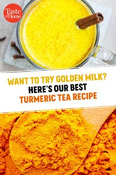 Want to Try Golden Milk? Here's Our Best Turmeric Tea Recipe