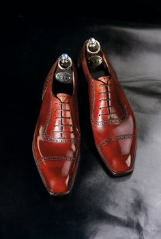 Ladies notice men's shoes. So wear gorgeous ones, like these. Gaziano & Girling.