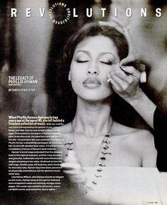 A Phyllis Hyman Utopia Phyllis Hyman, My Black Is Beautiful, Beautiful Women, Beautiful People, Luther Vandross, Black Celebrities, Celebs, Music Icon, 80s Music