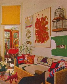 Street Scene Vintage: Psychedelic Home