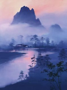 Beautiful Paintings by Hong Leung - AmO Images - AmO Images