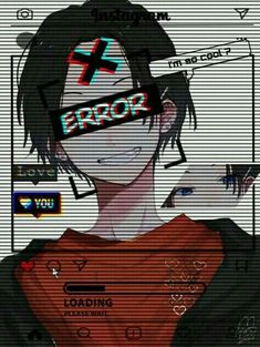 Si eres un gran fan del anime y del arte anime te invito a seguir a Anime Neko, Kawaii Anime, Otaku Anime, Sad Anime Girl, Cute Anime Guys, Anime Art Girl, Dark Anime, Gothic Anime, Glitch Wallpaper