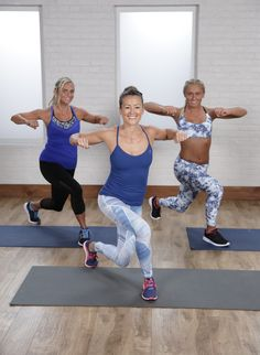 This at-home cardio workout is only 15 minutes long and requires absolutely no equipment. The video is full of modifications and low-impact options, too.