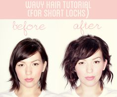Wavy Hair Tutorial (For Short Locks) | Keiko Lynn