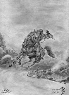 LotR: Nazgul - One of the Nine by Zarem on deviantART