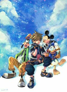 My friends are my strength and power!-Sora KH.