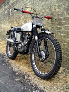 Triumph Tiger Cub - a classic British scrambler.   No it's a Triumph Trials Bike, don't spread misinformation.