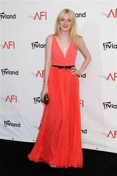 Dakota Fanning at the 40th Annual AFI Life Achievement Awards. See more celebs on Wonderwall: http://on-msn.com/MSj3Zt