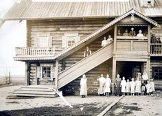 1913. Kuikkaniemi. Bombin talo