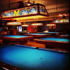 Block M sighting in the Union Billiards room!