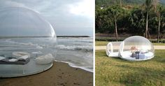 Transparent Bubble Tent Lets You Sleep Underneath The Stars | Bored Panda