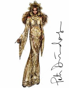 Beyoncé #Grammys2017 @peter_dundas| Be Inspirational ❥|Mz. Manerz: Being well dressed is a beautiful form of confidence, happiness & politeness