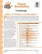 Free Download! 16-Page, printable Vocabulary Pack for Kids Discover Language!