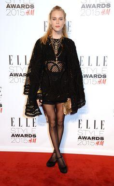 In Dolce & Gabbana.   - ELLE.com