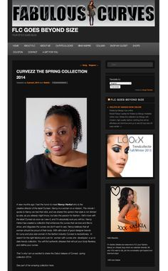 Fab&Luxury Curves featured Curvezz' Spring Collection 2014 @FabandLuxury curves Curvy beauty fashion blog