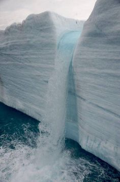 Glacial Waterfalls | Svalbard, Norway