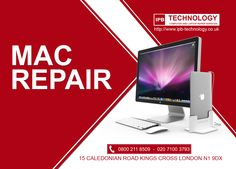 If you're looking for the best value Mac repair in London, talk to us. We offer repairs at a rate far lower than those in your local Apple store, Laptop Repair, Road King, Free Delivery, Mac, Things To Come, Technology, London, Cover, Collection