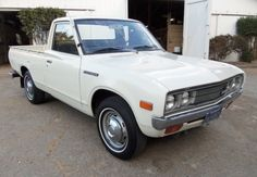 This 1978 Datsun 620 pick-up is said to have come from a wine country estate and have 51k original miles. The truck looks absolutely pristine and wears original blue plates with the original dealer frame. Find ithere on eBayin Santa Rosa, California.