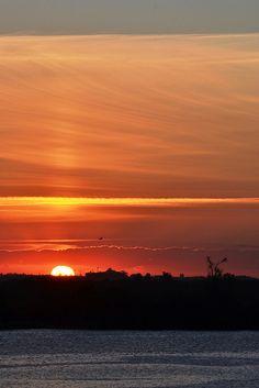 Porto Alegre - Brasil Pôr do Sol no Gasômetro