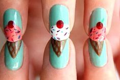 26 Incredibly Detailed Nail Art Designs from Buzzfeed. Have a few on there I want to try when I'm up for a challenge. ;)
