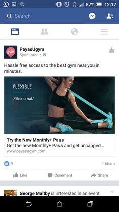 Payg gym. Not relevant as dont go to the gym