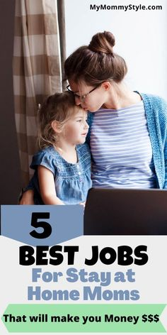 Here are the 5 best jobs for stay at home moms that will make you money and let you spend the much desired time at home raising your kids. #bestjobsforstayathomemoms #stayathomemomjobs via @mymommystyle Websites Like Etsy, Make Real Money, People Online, Mommy Style, Social Media Influencer, Stay At Home, Raising Kids, Style Blog, Good Job