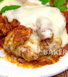 Slow Cooker Chicken Parmesan I'd Serve at My Wedding | AllFreeSlowCookerRecipes.com