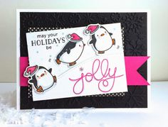 The Queen's Scene: May your holidays be JOLLY - {SSSC247} #mamaelephant