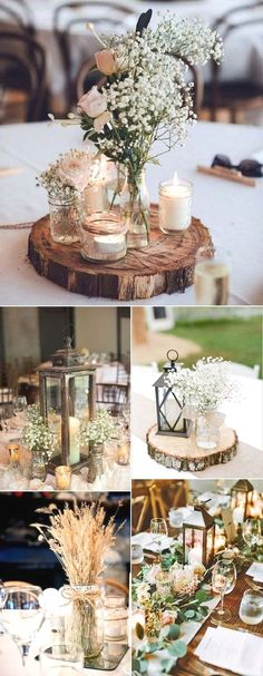 Table decoration wedding winter 15 best photos - # check more at . - Table decoration wedding winter 15 best photos – # Check more at … - Table Decoration Wedding, Wedding Decorations On A Budget, Rustic Party Decorations, Diy Wedding On A Budget, Diy Wedding Table Decorations, Inexpensive Wedding Ideas, Marriage Decoration, Outdoor Decorations, Center Table Decorations