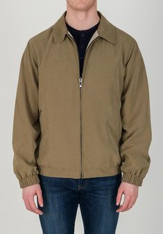 A great choice for everyday wear, the beige Murray jacket from Wellington is crafted from water repellent fabric which will protect you from unpredica Get The Look, Bomber Jacket, Beige, Water, How To Wear, Jackets, Men, Outfits, Shopping
