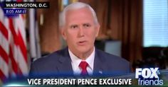 Mike Pence Isn't Sure Why So Many People Think Climate Change Is A 'Paramount Issue'