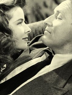 Spencer Tracy & Katharine Hepburn. S)