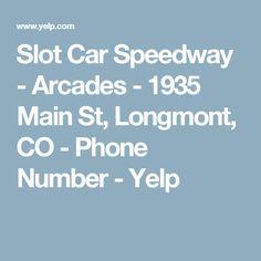 Slot Car Speedway - Arcades - 1935 Main St, Longmont, CO - Phone Number - Yelp