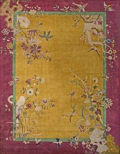 民国时期的精美地毯