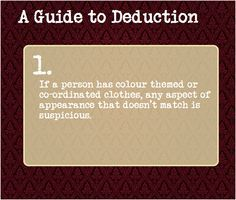 a guide to deduction - Google Search