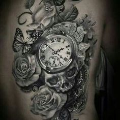 Next tattoo... either a clock or a compass