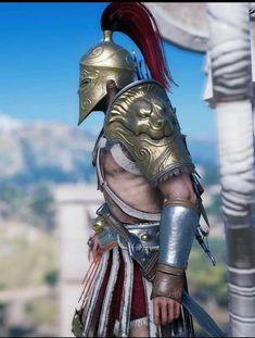 Assassins Creed Art, Assassins Creed Odyssey, Spartan Tattoo, Greek Warrior, Roman Soldiers, Assassin's Creed, Guerrilla, Troy, Knights