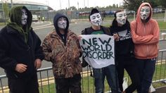 A low-key protest by online activists has started outside the UK Government Communications Headquarters (GCHQ).