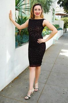 Mesh Leopard Tango Dress